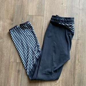 MOUNTAIN HARDWARE Blue Stretchy Leggings Small